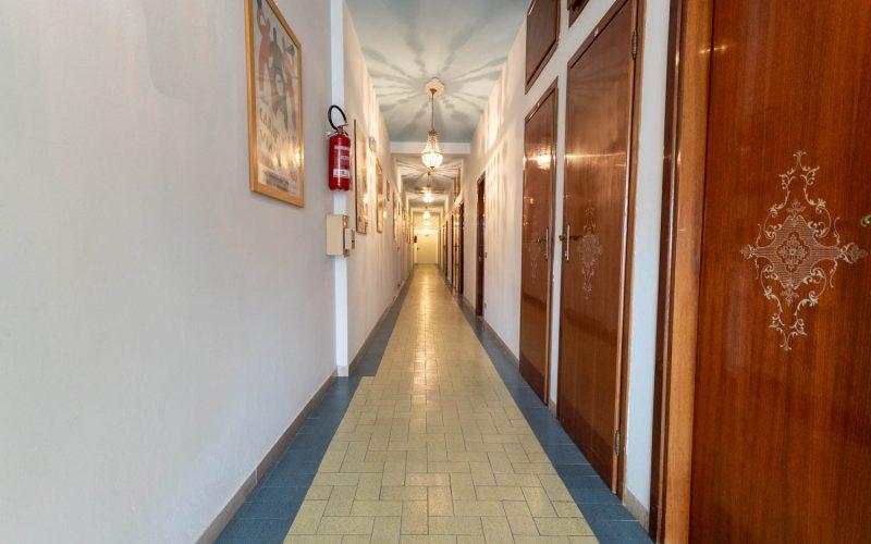 Corridoio Camere Albergo Andrea Doria
