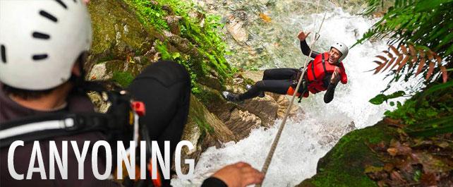 Canyoning Trekking